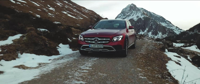 Best foot forward – Mercedes-Benz E-Class All-Terrain shows off in new ad