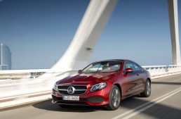 Test with the Mercedes E-Class Coupe: the anti-claustrophobia pill