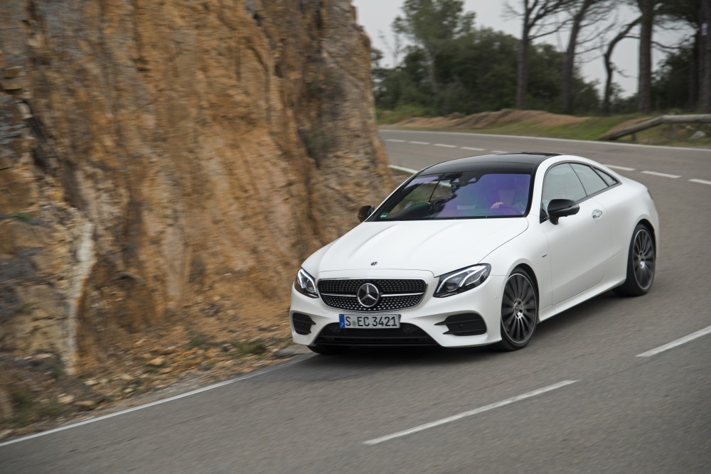 Update for Mercedes E-Class Coupe and Cabrio: New petrol and diesel engines