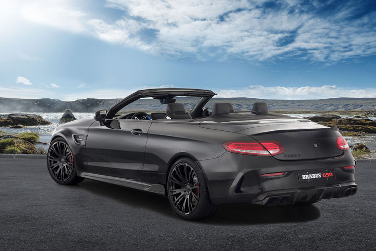 BRABUS 650 CABRIO: AMG C-Class convertible with the right power