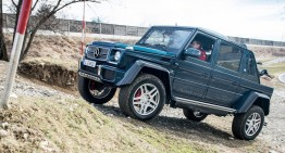 TEST Mercedes-Maybach G 650 Landaulet: 750,000 euro drop-top G-Class