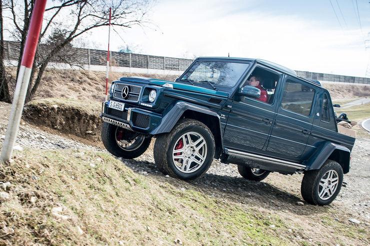 TEST Mercedes-Maybach G 650 Landaulet: 750,000 euro drop-top G-Class