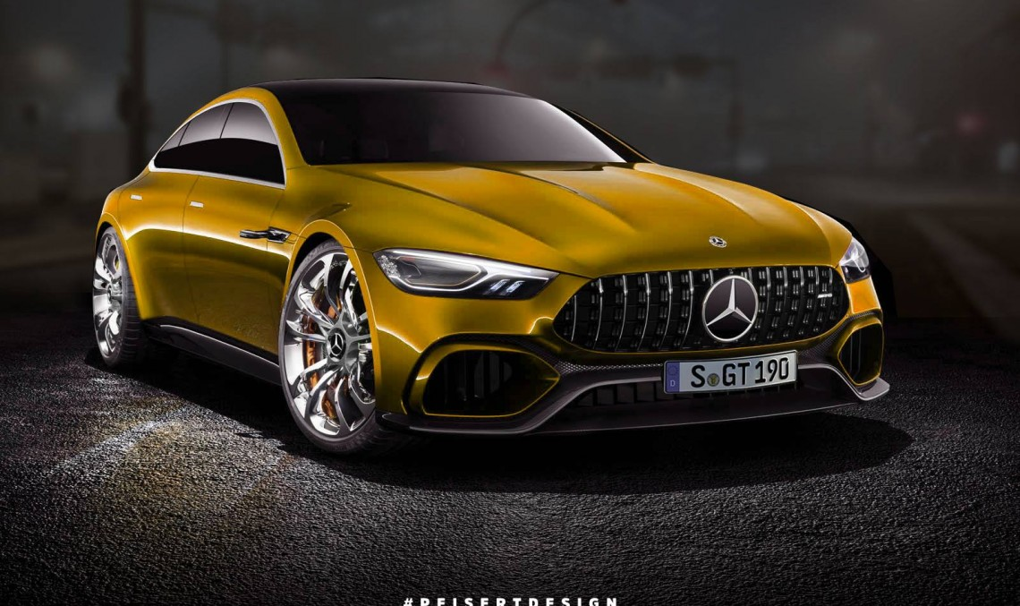 Mercedes-AMG GT Concept: See how it looks in semi-production guise