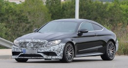 Mercedes C-Class facelift 2018 by auto motor und sport