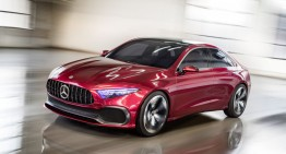 Mercedes A-Class Sedan Concept: This is the next compact class