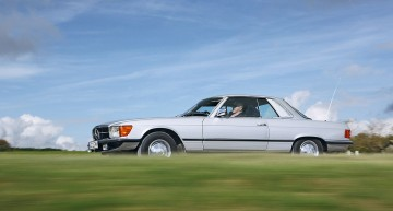 Arlberg Classic Car Rally 2017: Classic Benz at alpine heights