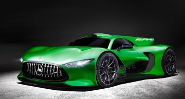 First real image of the Mercedes-AMG Project One, the hypercar with over 1,000 HP