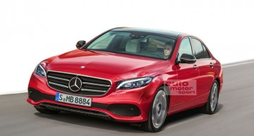 The next Mercedes C-Class will be launched in 2020