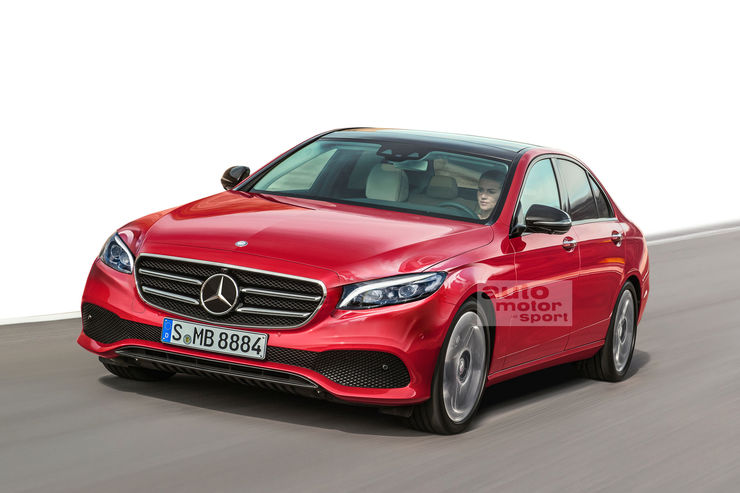 מצטיין The next Mercedes C-Class will be launched in 2020 - MercedesBlog JR-26