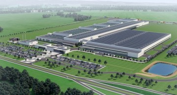 New Mercedes engine factory in Jawor, Poland