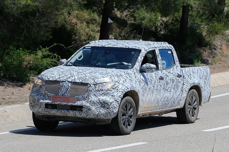 Mercedes X-Class revealed: Mercedes pickup first pictures are here