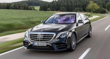 A new unit-sales record every  month for the past five years for Mercedes-Benz