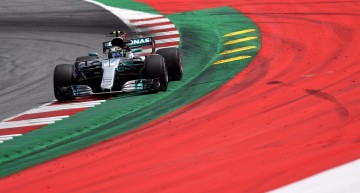 Mercedes' Valtteri Bottas wins the Austrian Grand Prix