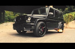 The Flamethrower – This Mercedes-AMG G63 spits fire