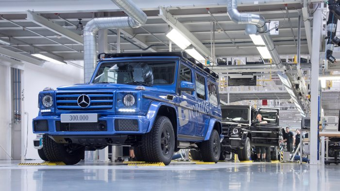 Production record: the 300,000th G-Class has been built in Graz