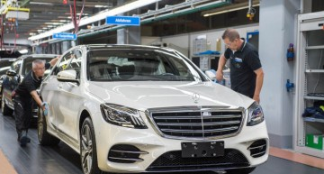 Mercedes-Benz S-Class goes into series production at the high-end Sindelfingen plant