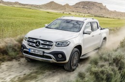 Mercedes X-Class is official! Everything about the new luxury pickup