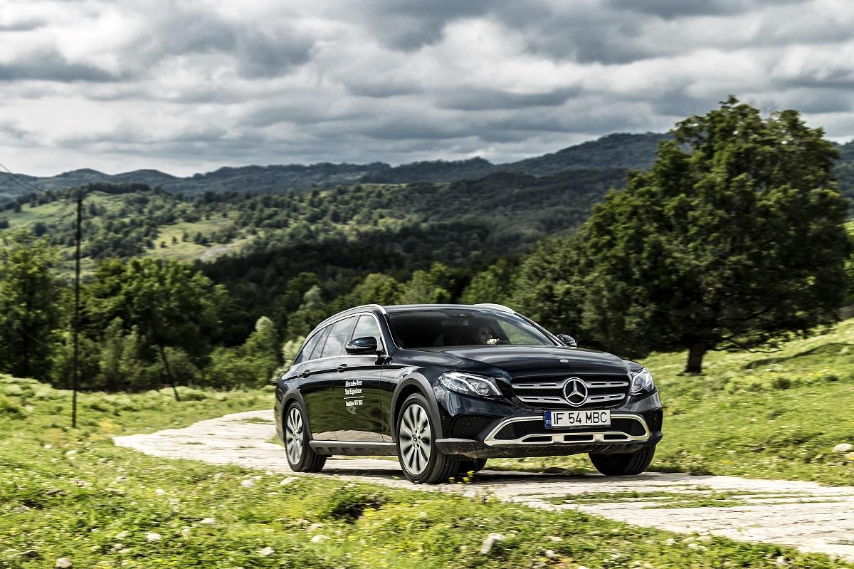Mercedes B Class Electric >> The Mercedes-Benz E 400 d All-Terrain gets the S-Class ...
