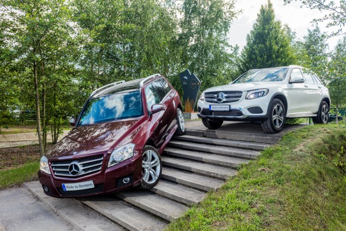 Mercedes-Benz GLC passes the 1 million mark