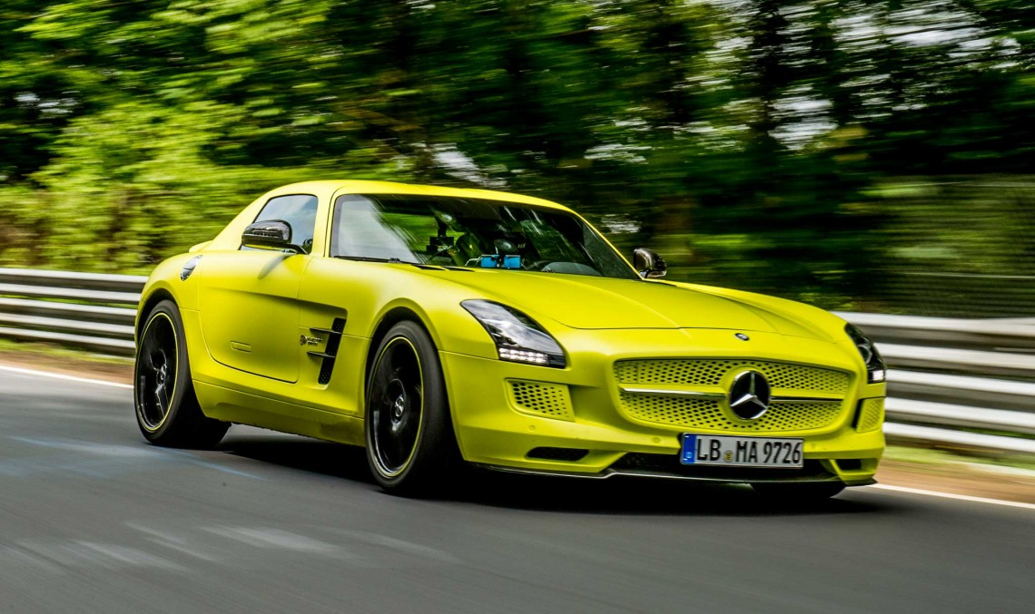 Mercedes-AMG is preparing a brand new electric supercar