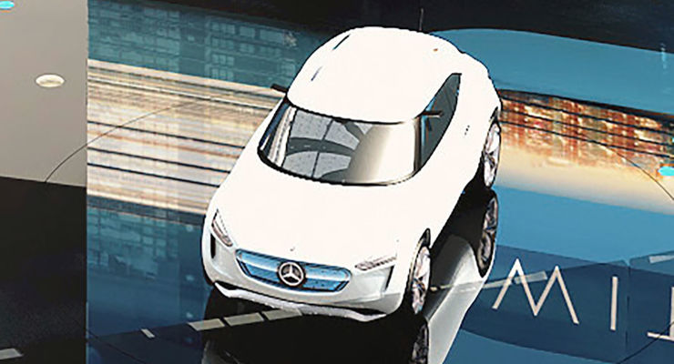 Mercedes Vision EQ A: First picture of the new compact electric