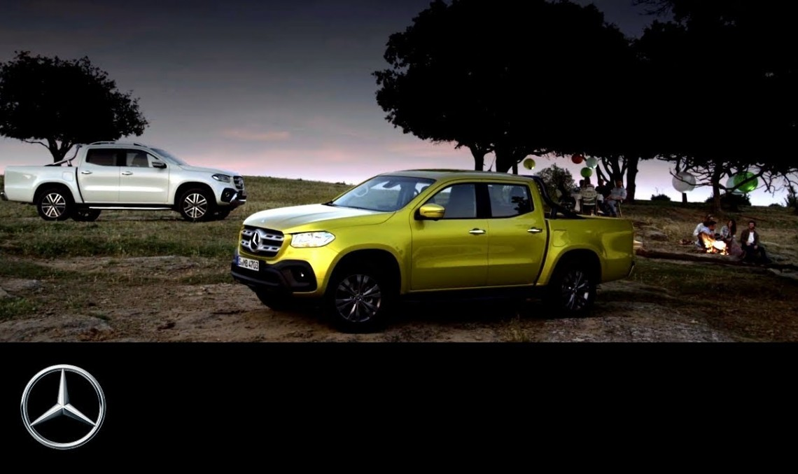 So this is what it's made for – Mercedes-Benz X-Class