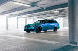 Aquamarine power – Mercedes-AMG E63 S Estate tuned up by Fostla