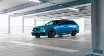 Aquamarine power – Mercedes-AMG E63 S Estate tuned up by Fostla