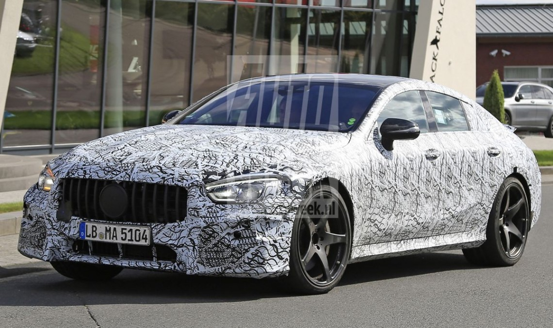 Mercedes-AMG GT 4: Best spy pictures yet