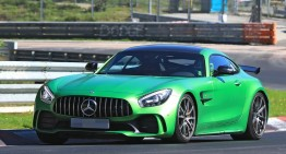 Mercedes-AMG GT4, now in street guise. FIRST PICS AND INFO