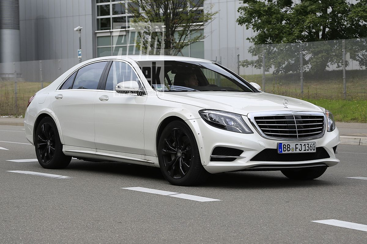 All New Mercedes S Class Testing Begins First Mules Are Out