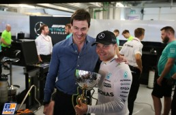 Valtteri Bottas signs contract extension with Mercedes-AMG