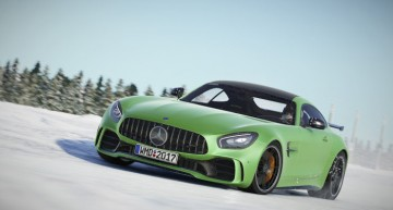 Drive Mercedes-AMG supercars in the Project CARS 2 racing game!