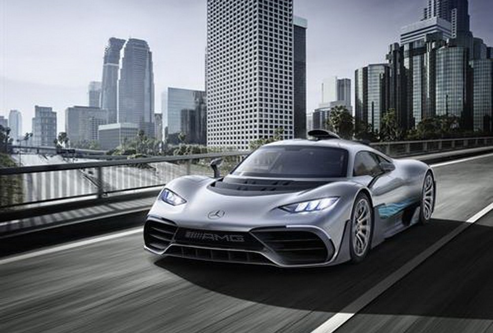 Linkin Park helps the electrified Mercedes-AMG Project ONE sound better