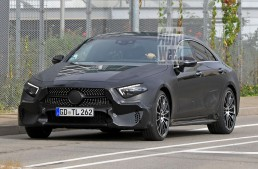2018 Mercedes CLS / CLE loses camouflage – latest pics
