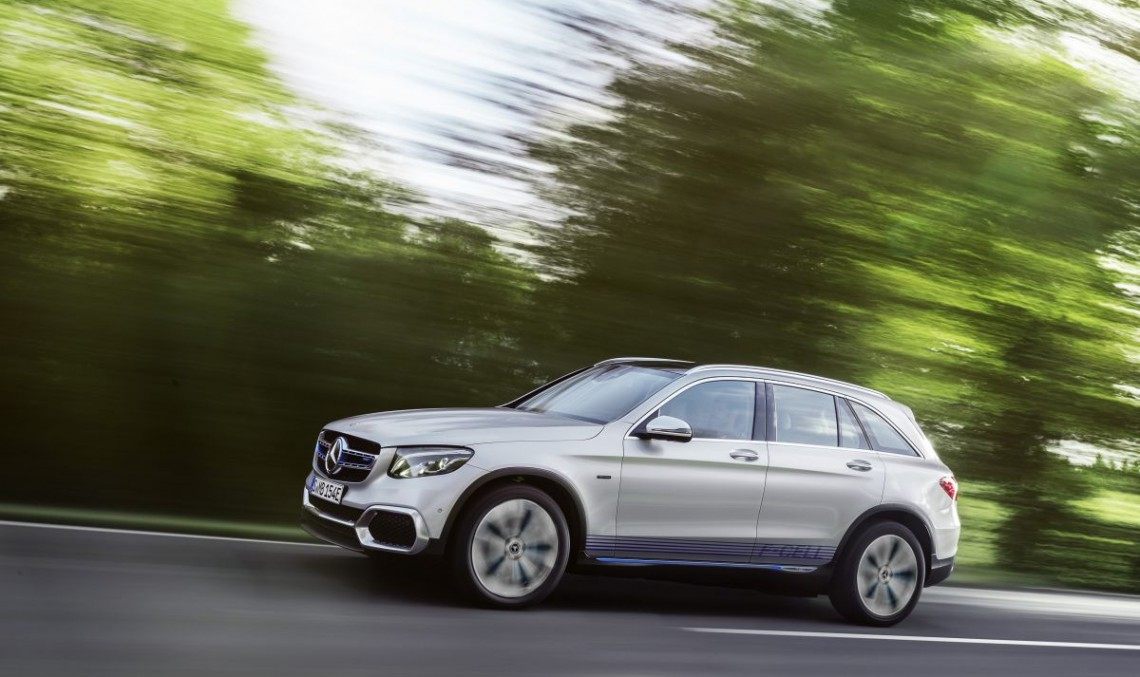 FRANKFURT LIVE: Mercedes GLC F-Cell, first series SUV powered by hidrogen