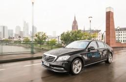 Mercedes starts autonomous driving world test drive
