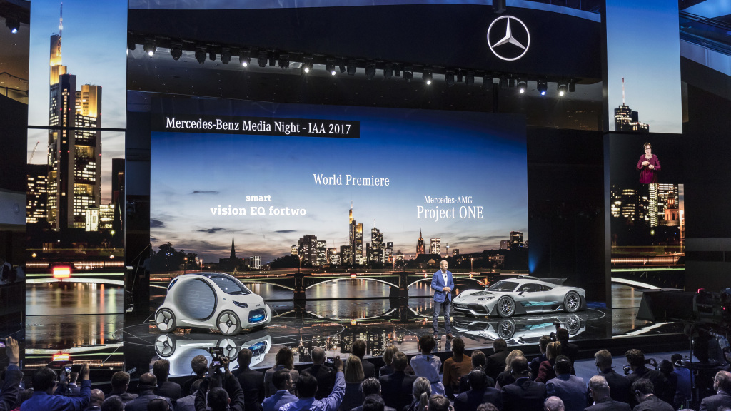 LIVE IAA 2017: Mercedes-Benz Frankfurt premieres full coverage