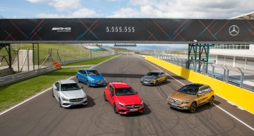 Best-sellers: 5,555,555 compact cars sold by Mercedes-Benz