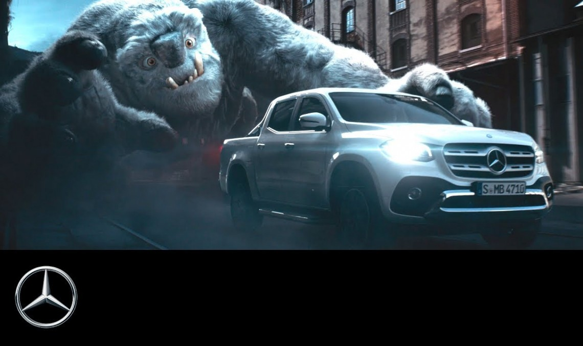Preparing for an alien invasion? Mercedes releases yet another odd video to promote the X-Class
