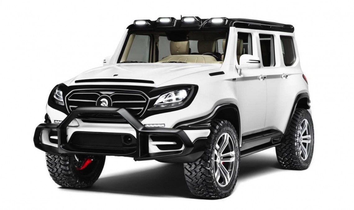 This used to be a G-Class once. Not anymore! This is the Ares X-Raid