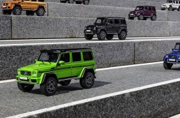 This is the Mercedes-AMG G 500 4×4² that anyone can afford