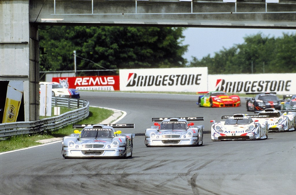 20 years ago: FIA GT Drivers' and Constructors' Championship 1997 for AMG Mercedes