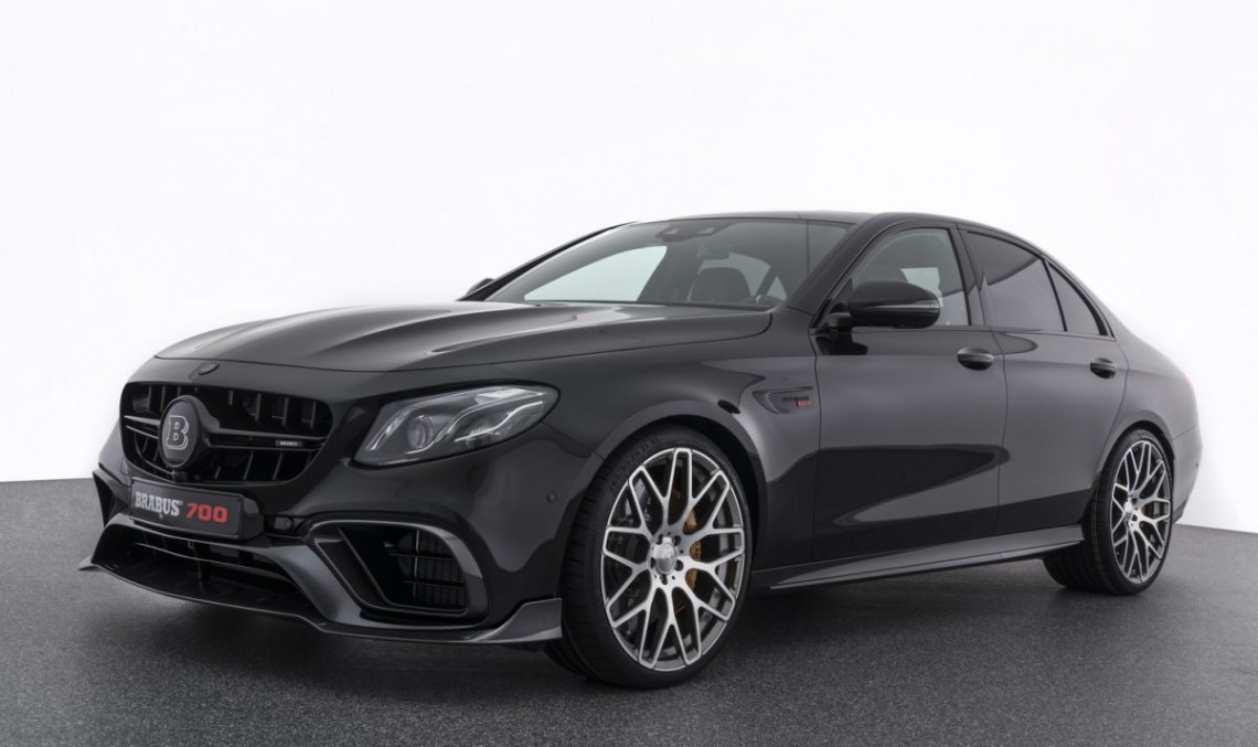 Brabus Launches 700 Hp Mercedes Amg E63 E