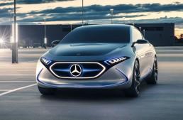 Mercedes trademarks EQA 250 and EQB 250 designations