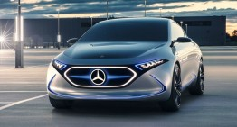 Mercedes trademarks EQA 250 and EQB 250 designations