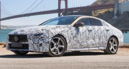 2018 Mercedes CLS: First official pics and information