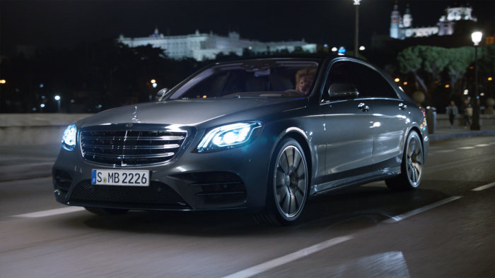 Taming lions with the new Mercedes-Benz S-Class