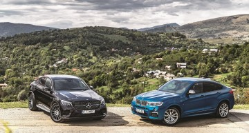 Comparison test Mercedes-AMG GLC 43 vs BMW X4 M40i