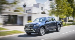 Mercedes-Benz X-Class gets five stars Euro NCAP